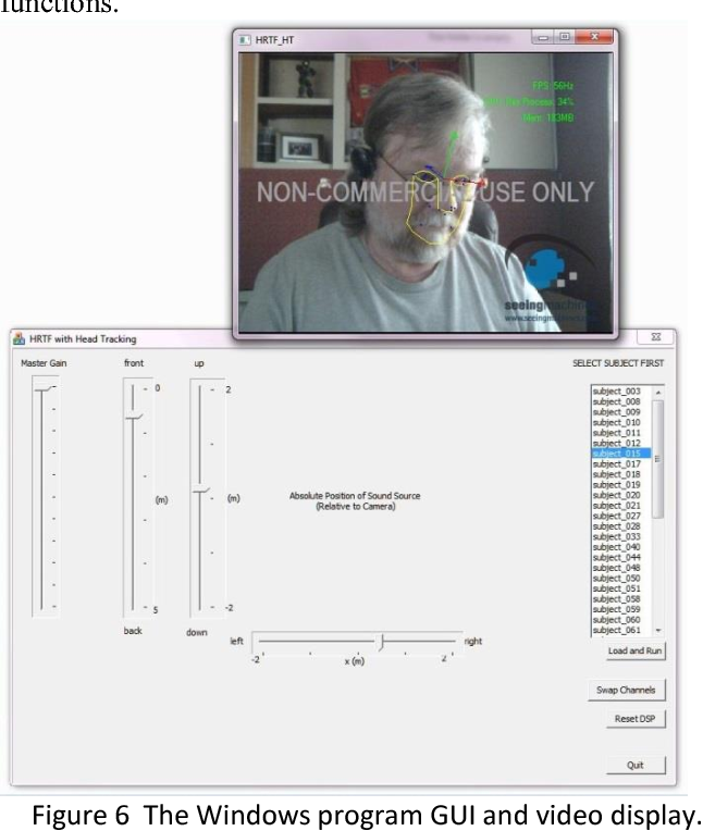 Figure 6 from 3D sound imaging with head tracking - Semantic