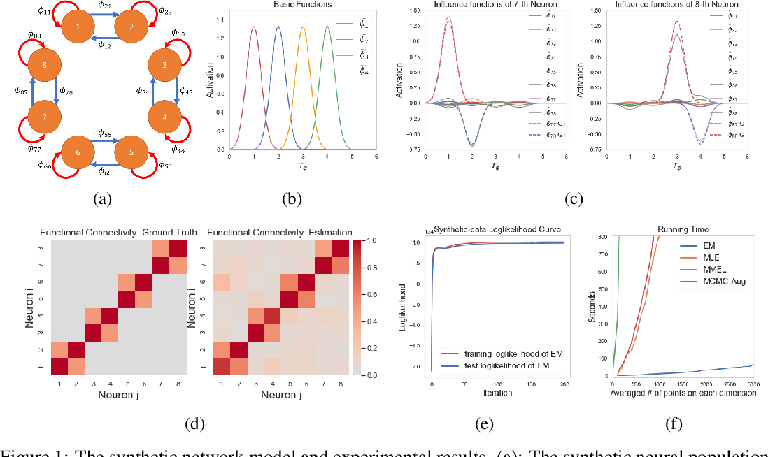 Figure 1 for Efficient Inference of Nonparametric Interaction in Spiking-neuron Networks