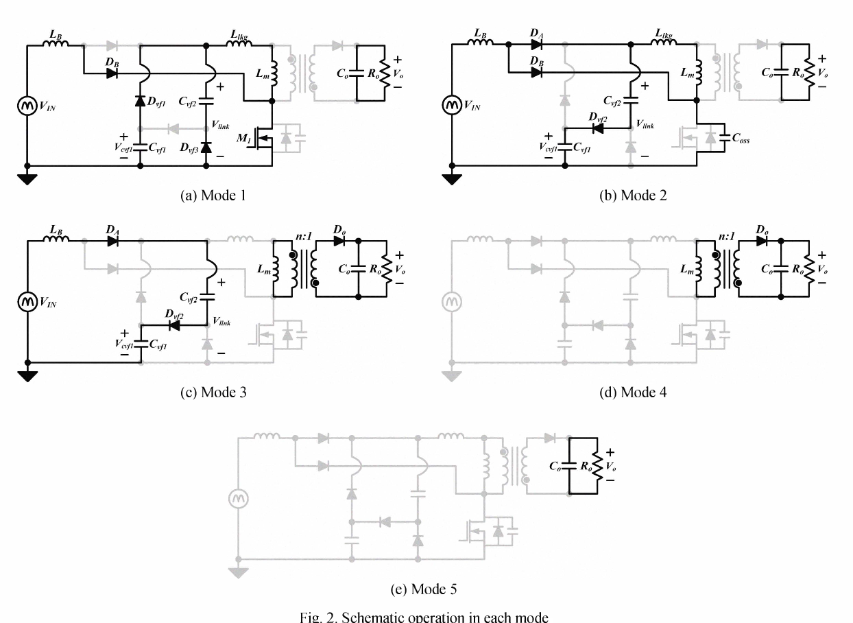 Boost Integrated Flyback Ac Dc Converter With Valley Fill Circuit Light Bulb Schematic Figure 2