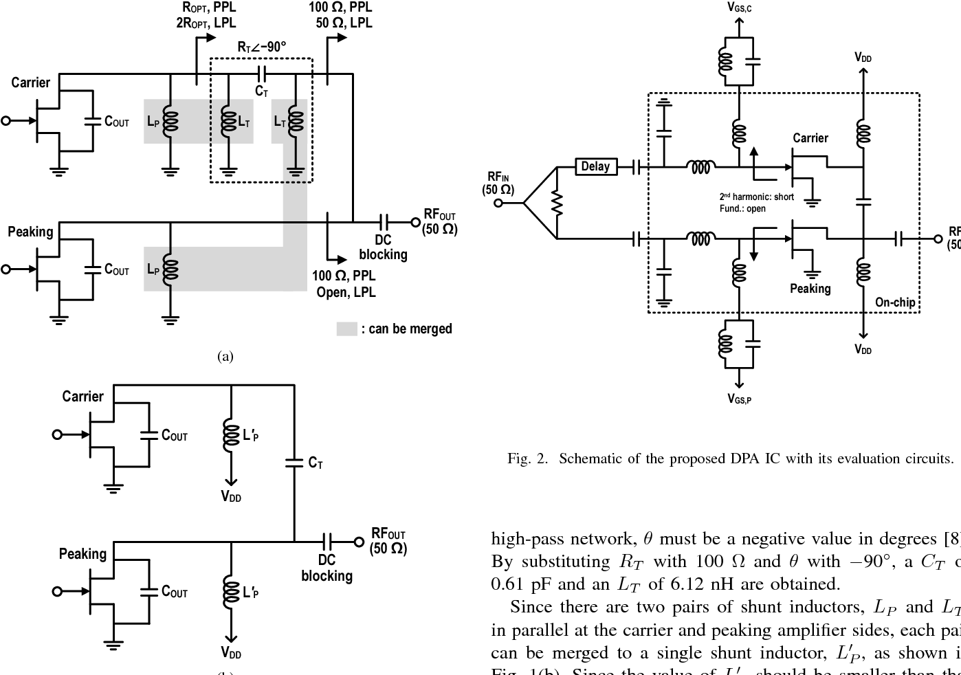Homage Ups Circuit Diagram Wiring Schematic Figure From Gan Hemt Doherty Power Amplifier Integrated Org With Ammeter