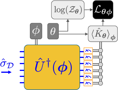 Figure 2 for Quantum Hamiltonian-Based Models and the Variational Quantum Thermalizer Algorithm