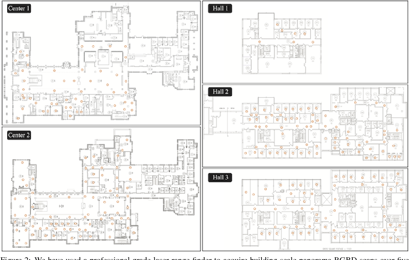 Figure 3 for Exploiting 2D Floorplan for Building-scale Panorama RGBD Alignment