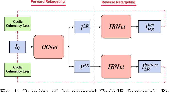 Figure 1 for Cycle-IR: Deep Cyclic Image Retargeting