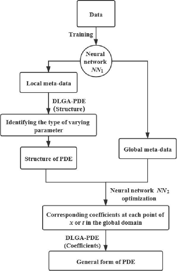 Figure 1 for Deep-learning of Parametric Partial Differential Equations from Sparse and Noisy Data