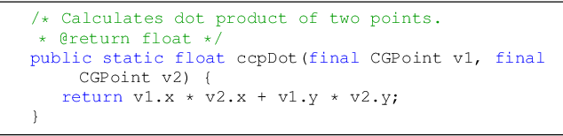 Figure 1 for Automatic Generation of Text Descriptive Comments for Code Blocks
