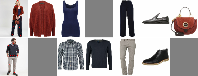 Figure 1 for Generating High-Resolution Fashion Model Images Wearing Custom Outfits