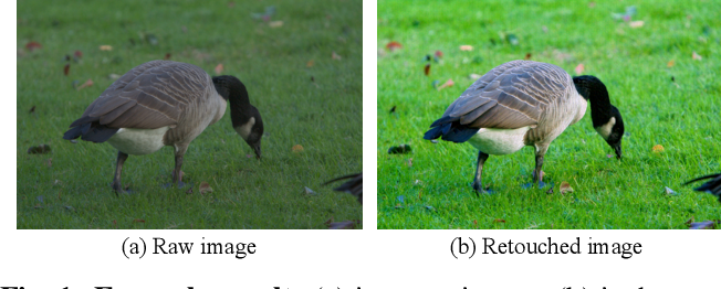 Figure 1 for A Coarse-to-Fine Framework for Learned Color Enhancement with Non-Local Attention