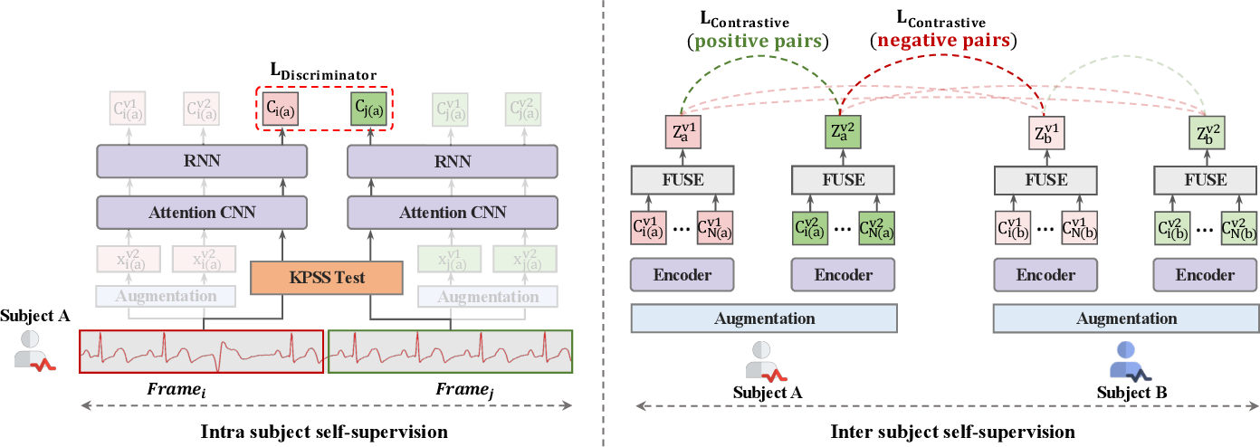 Figure 3 for Intra-Inter Subject Self-supervised Learning for Multivariate Cardiac Signals