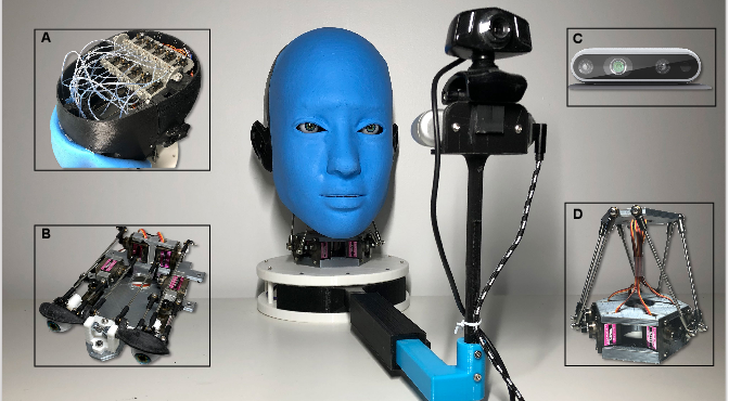 Figure 2 for Smile Like You Mean It: Driving Animatronic Robotic Face with Learned Models