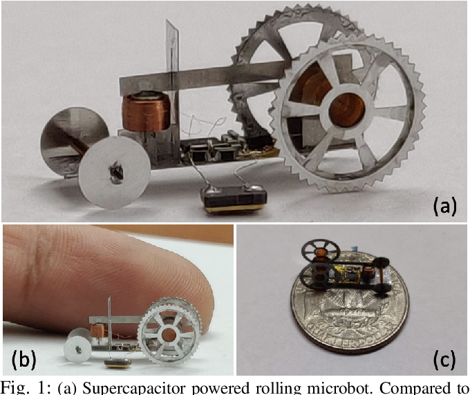 Figure 1 for An Insect-scale Self-sufficient Rolling Microrobot
