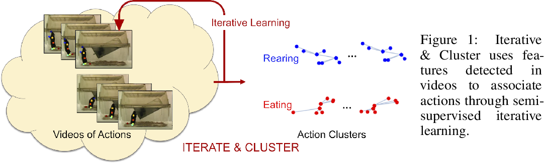 Figure 1 for Iterate & Cluster: Iterative Semi-Supervised Action Recognition