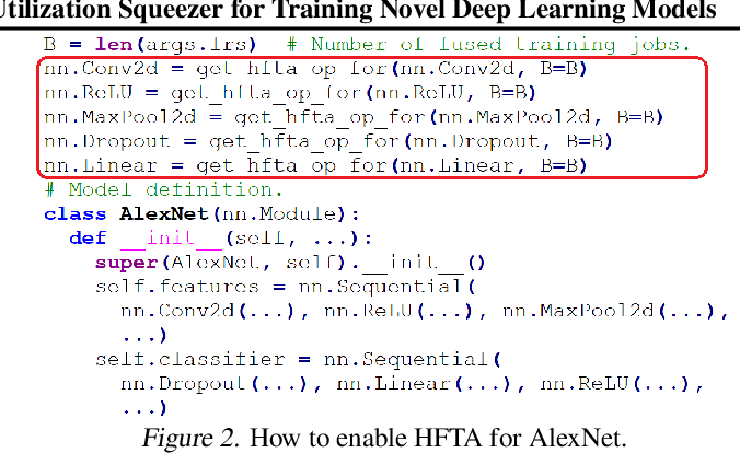 Figure 3 for Horizontally Fused Training Array: An Effective Hardware Utilization Squeezer for Training Novel Deep Learning Models