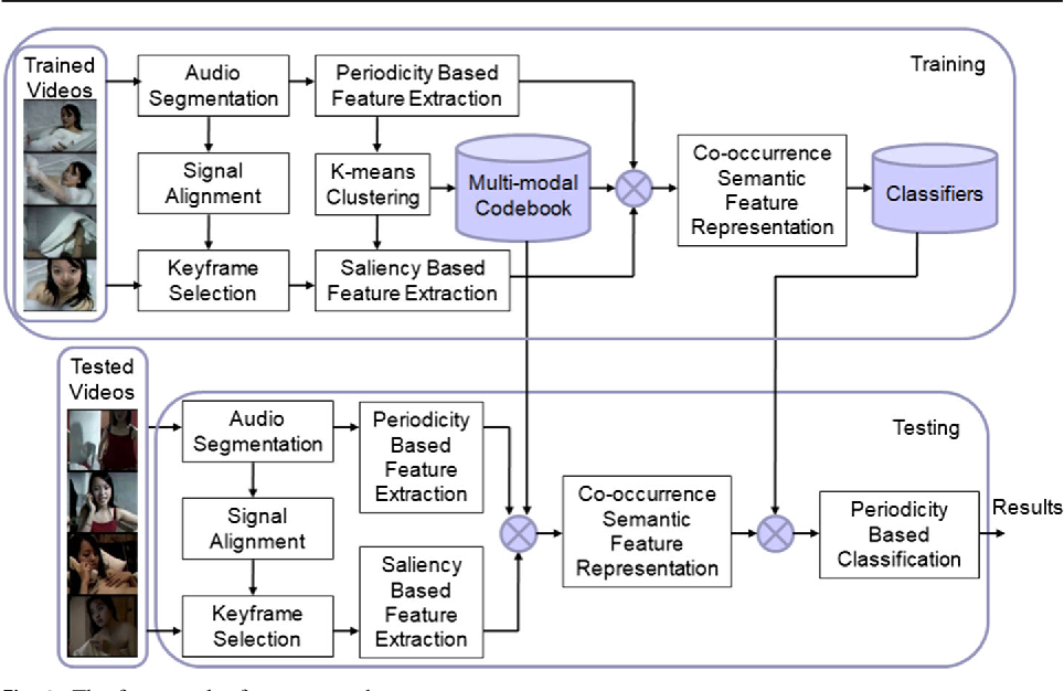 Figure 1 for Analyzing Periodicity and Saliency for Adult Video Detection