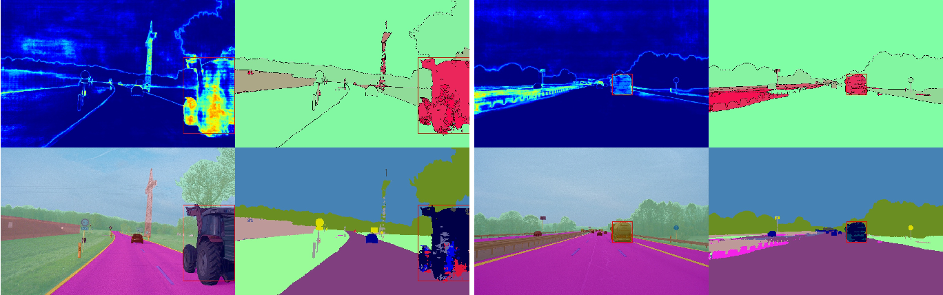 Figure 2 for Detection and Retrieval of Out-of-Distribution Objects in Semantic Segmentation