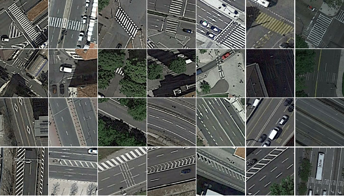 Figure 2 for Deep Learning Based Large-Scale Automatic Satellite Crosswalk Classification