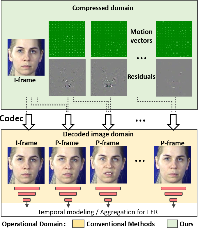 Figure 1 for Identity-aware Facial Expression Recognition in Compressed Video