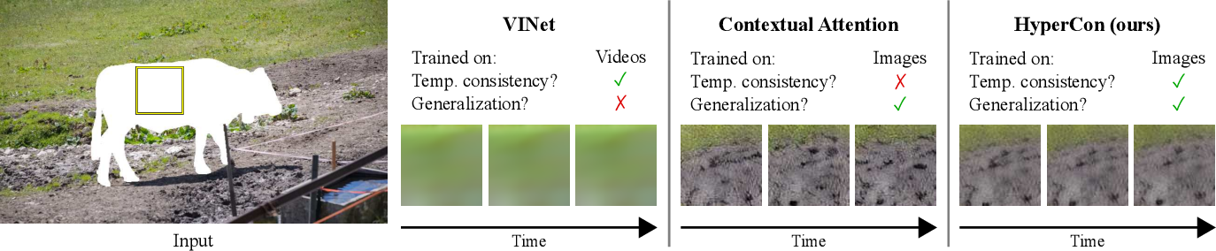 Figure 1 for HyperCon: Image-To-Video Model Transfer for Video-To-Video Translation Tasks