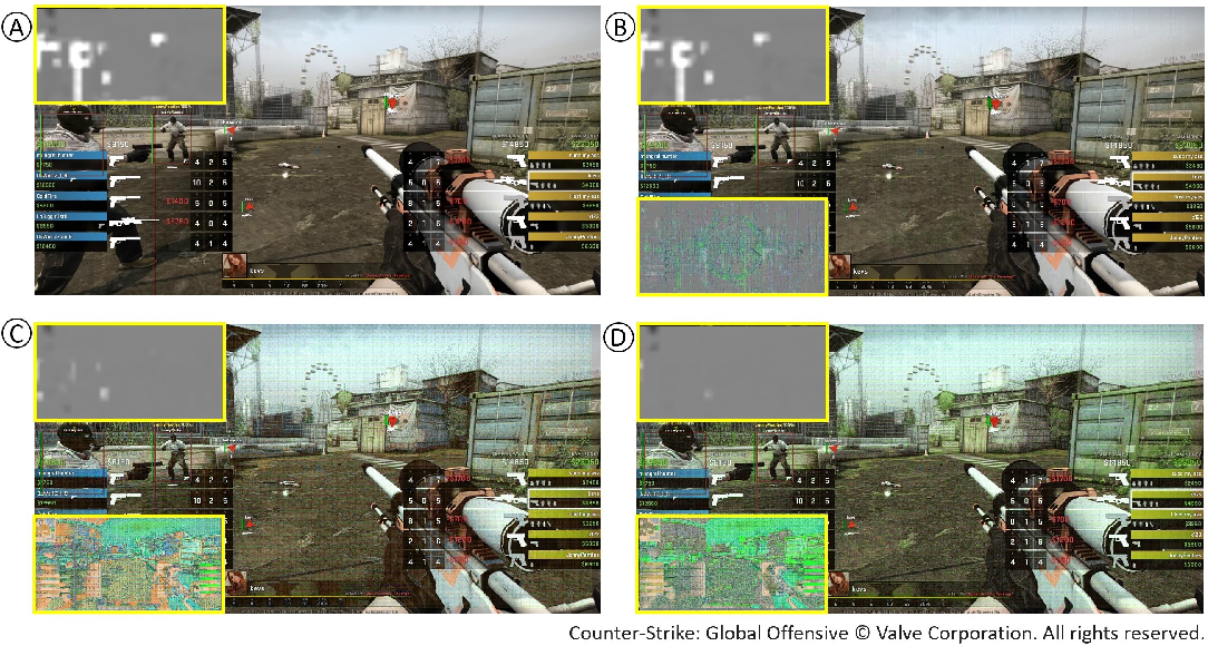 Figure 4 for Robust Vision-Based Cheat Detection in Competitive Gaming