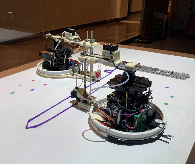 Figure 1 for Projector-Guided Non-Holonomic Mobile 3D Printing