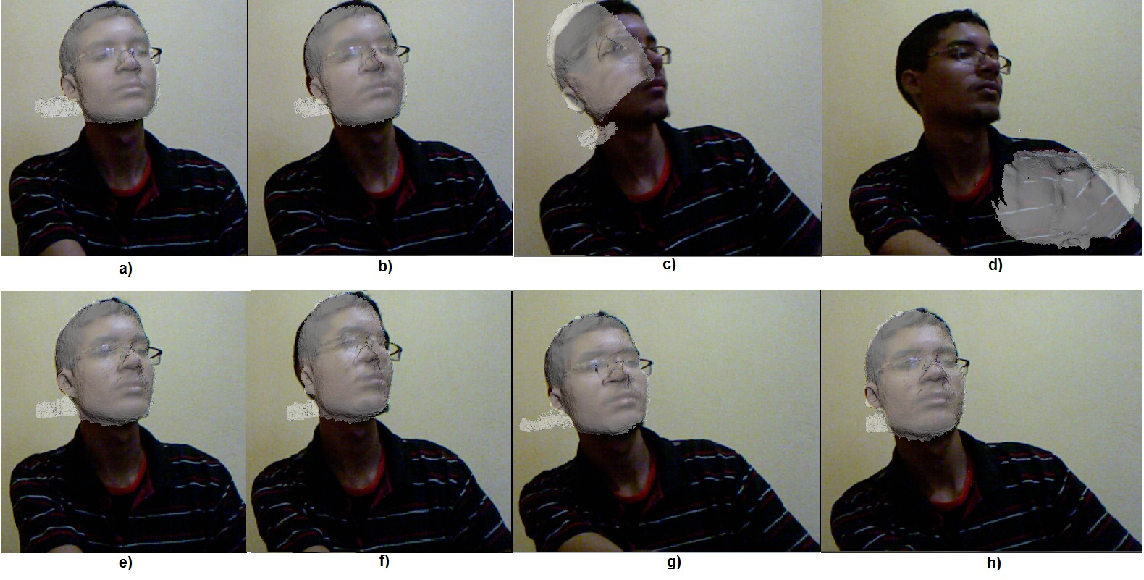 KinectFusion for Faces: Real-Time 3D Face Tracking and Modeling