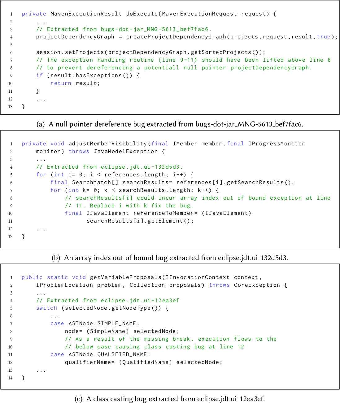 Figure 1 for Learning a Static Bug Finder from Data