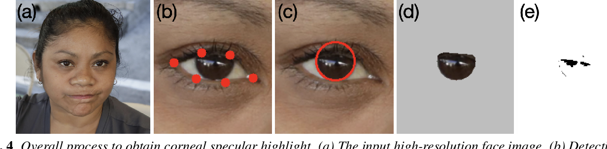 Figure 4 for Exposing GAN-generated Faces Using Inconsistent Corneal Specular Highlights