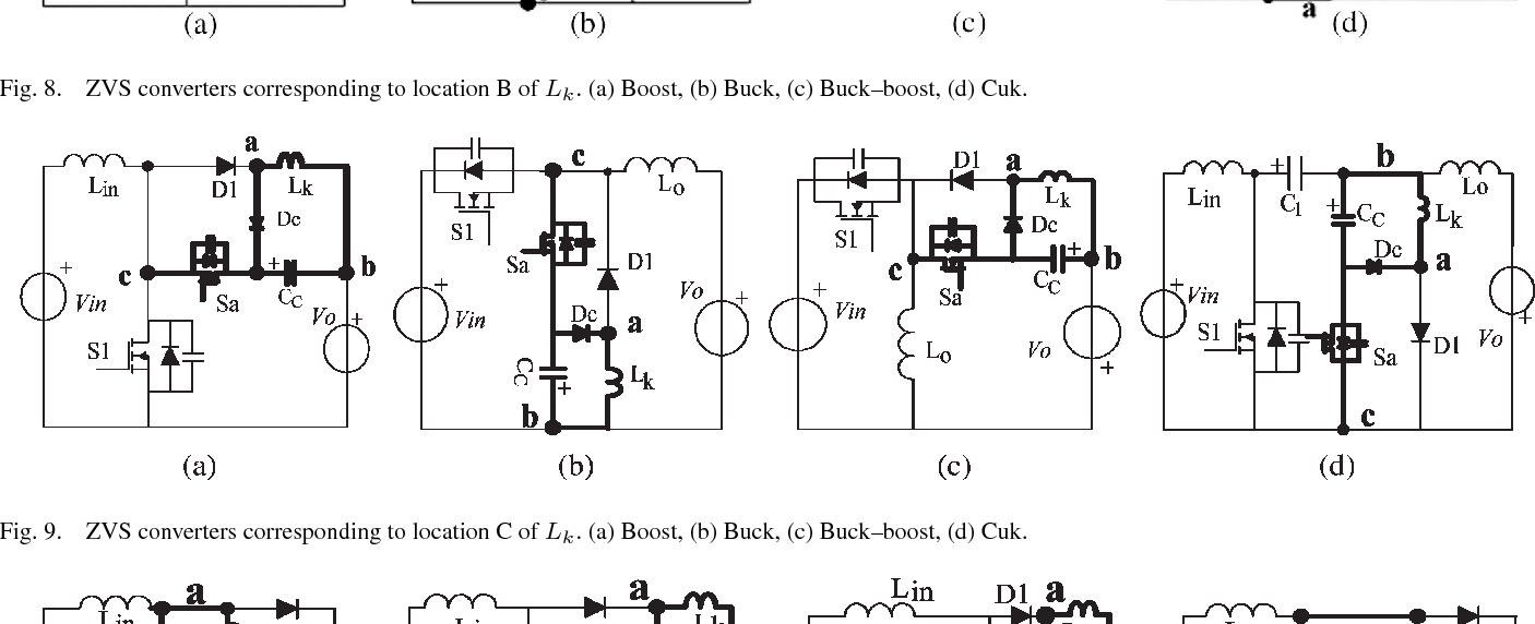 Analysis And Derivations For A Family Zvs Converter Based On New Figure 8 Boost Circuit Diagram Active Clamp Cell Semantic Scholar