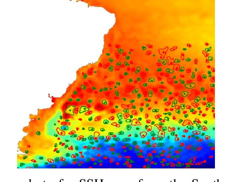 Figure 1 for EddyNet: A Deep Neural Network For Pixel-Wise Classification of Oceanic Eddies