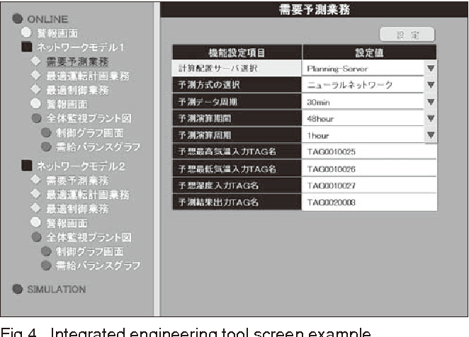 Figure 4 shows an example screenshot of the integrated engineering tool.
