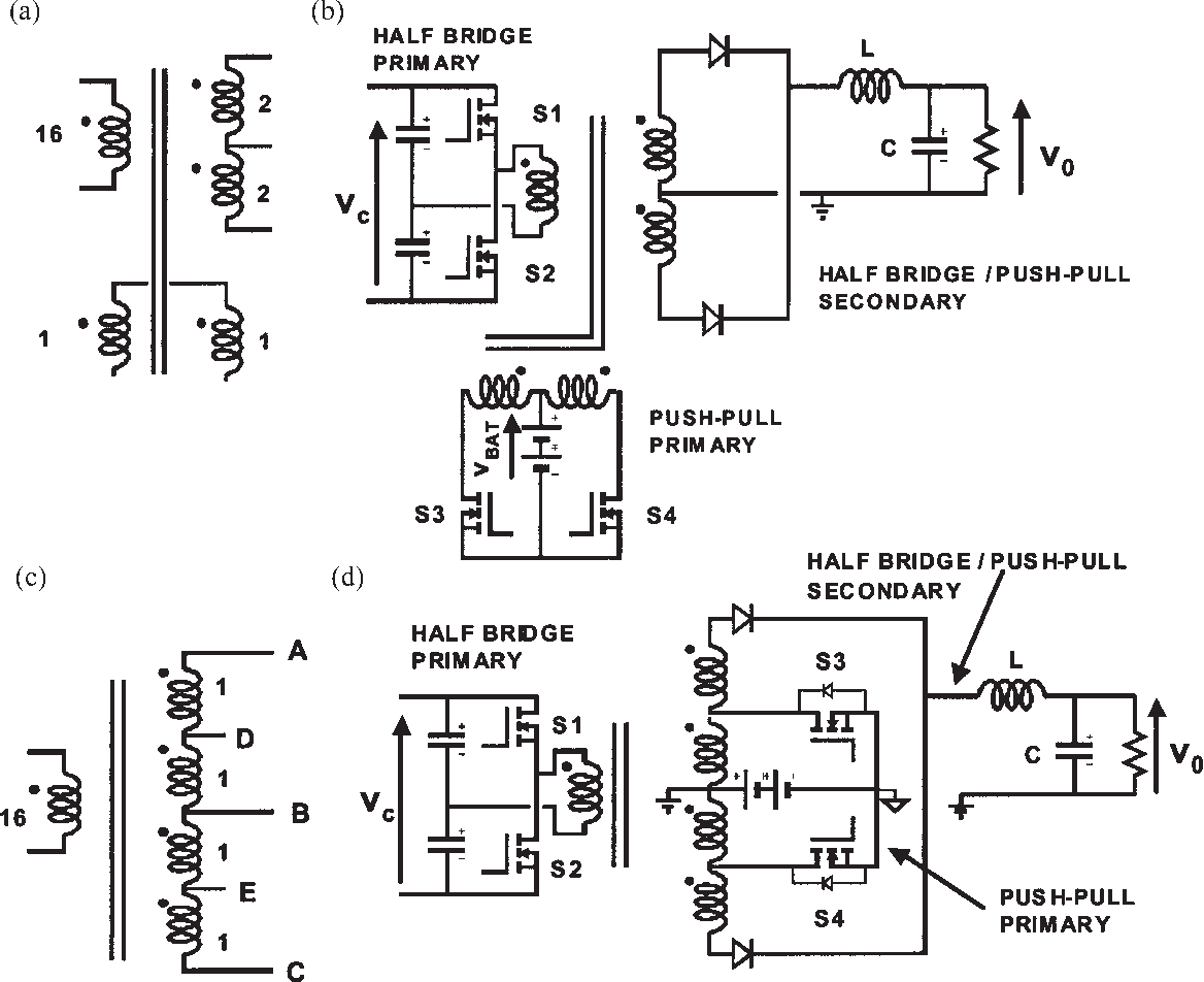 Multiple Output Ac Dc Converter With An Internal Ups Semantic H Bridge Circuit Diagram Scholar