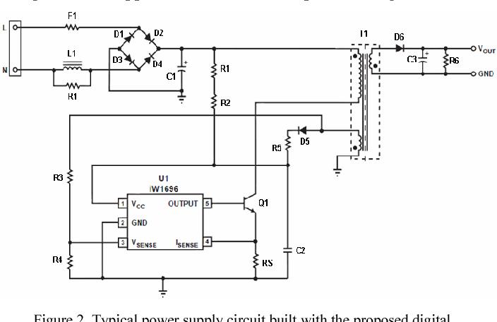 A low-cost adaptive multi-mode digital control solution maximizing