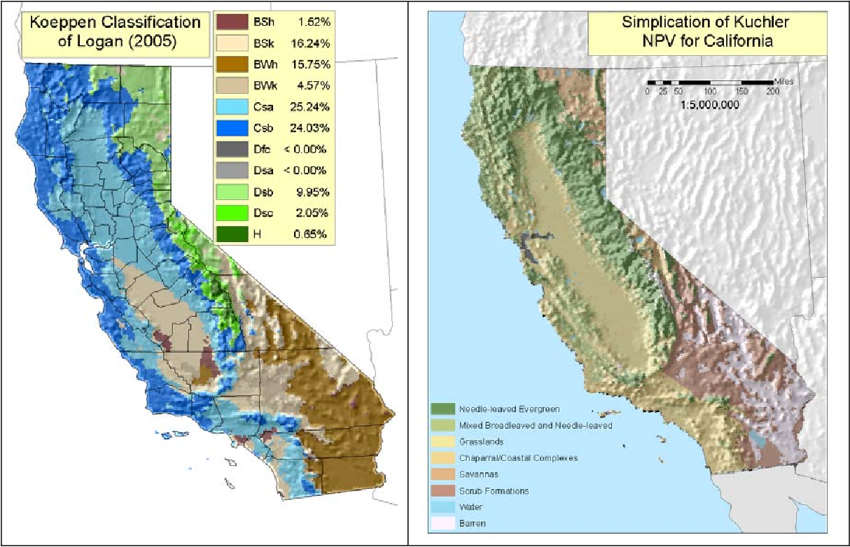 Map Of California Climate Zones.Climate Zones California Map