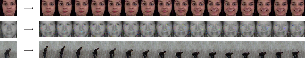 Figure 4 for Jointly Trained Image and Video Generation using Residual Vectors