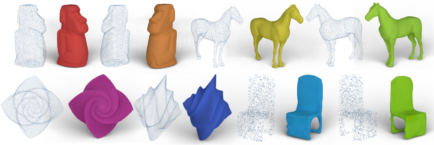 Figure 1 for Z2P: Instant Rendering of Point Clouds