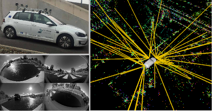 Figure 1 for VIZARD: Reliable Visual Localization for Autonomous Vehicles in Urban Outdoor Environments