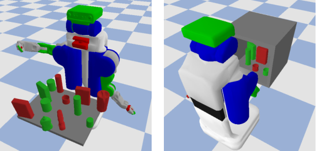 Figure 1 for Manipulation Planning Among Movable Obstacles Using Physics-Based Adaptive Motion Primitives