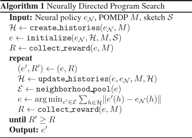 Figure 2 for Programmatically Interpretable Reinforcement Learning