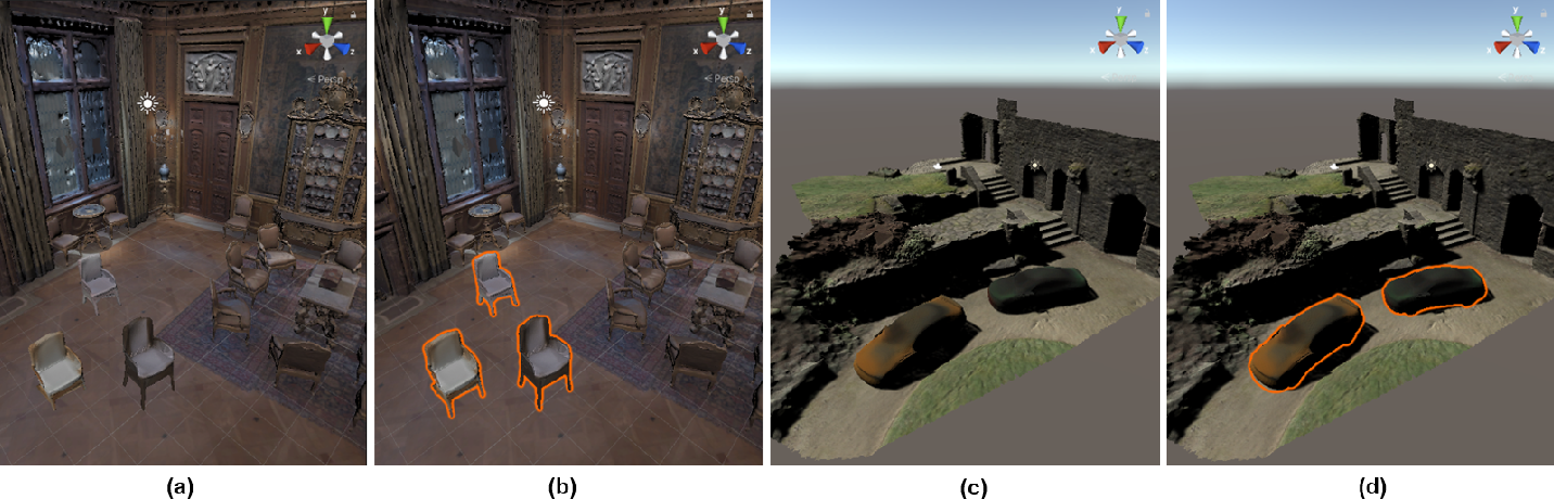 Figure 1 for HyperColor: A HyperNetwork Approach for Synthesizing Auto-colored 3D Models for Game Scenes Population