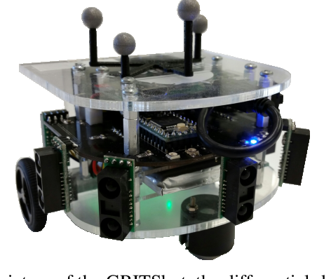 Figure 1 for Robust Barrier Functions for a Fully Autonomous, Remotely Accessible Swarm-Robotics Testbed