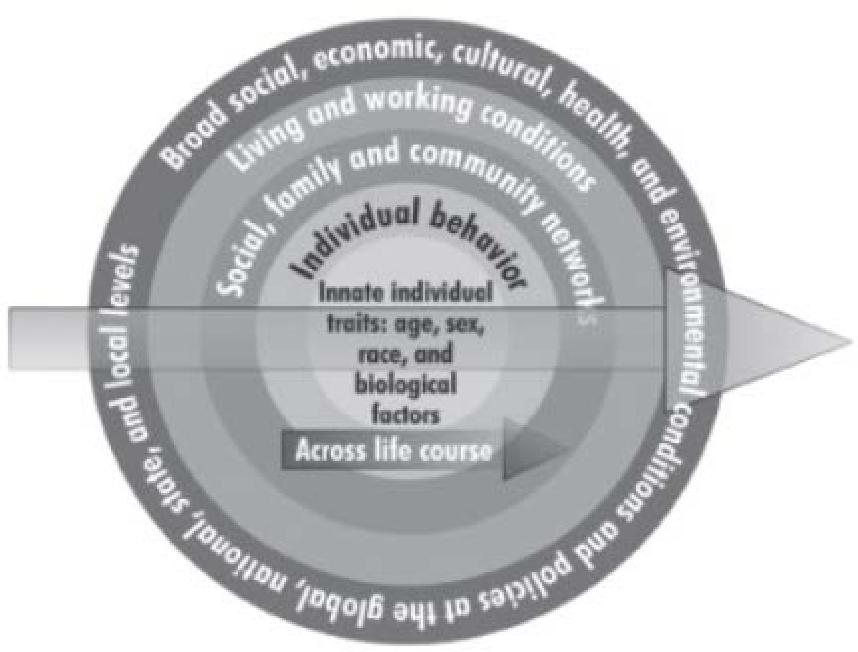 Figure 1. Institute of Medicine's Social Ecological Model (2010)
