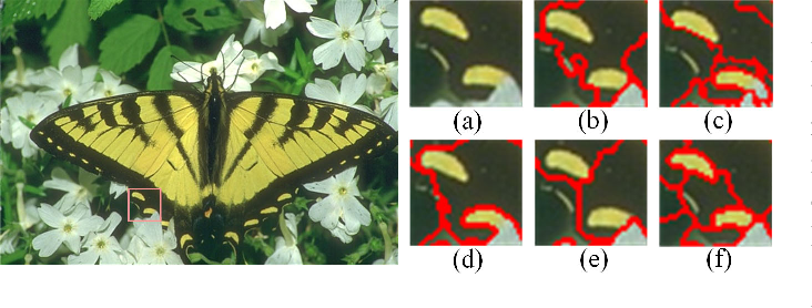 Figure 3 for Superpixel Segmentation Based on Spatially Constrained Subspace Clustering