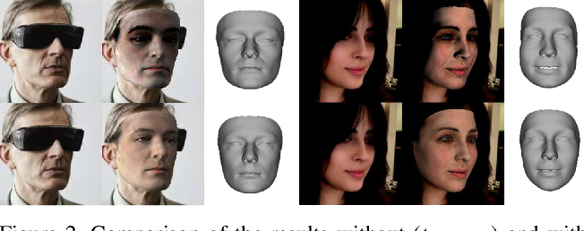 Figure 3 for Accurate 3D Face Reconstruction with Weakly-Supervised Learning: From Single Image to Image Set