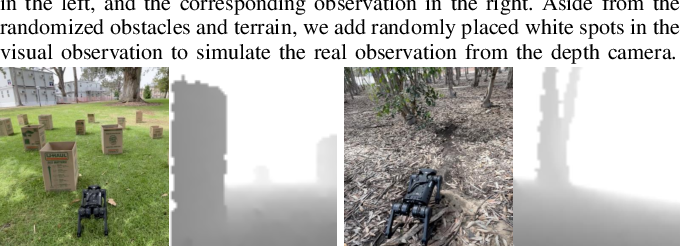 Figure 3 for Vision-Guided Quadrupedal Locomotion in the Wild with Multi-Modal Delay Randomization