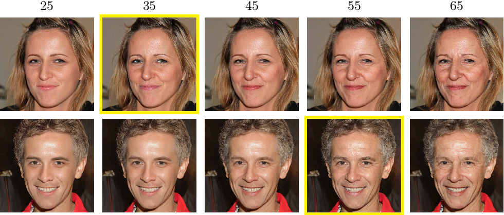 Figure 1 for High Resolution Face Age Editing