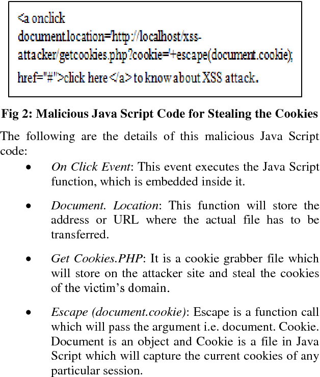 PDF] Exploitation of Cross-Site Scripting (XSS