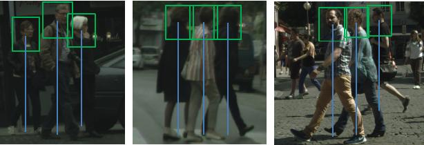 Figure 1 for Semantic Head Enhanced Pedestrian Detection in a Crowd