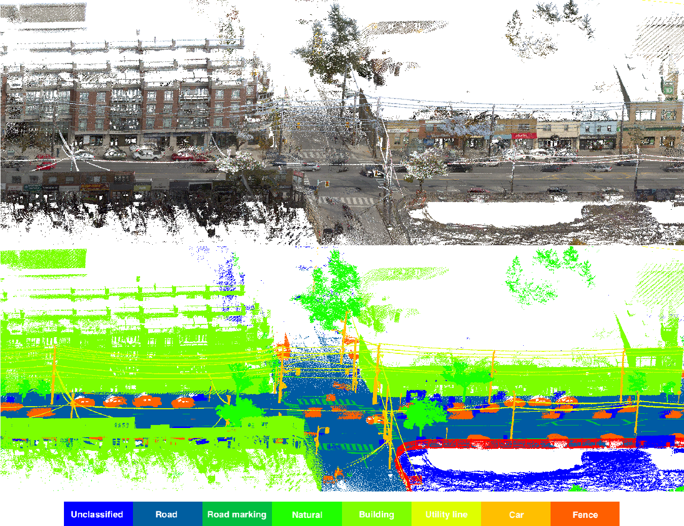 Figure 1 for Toronto-3D: A Large-scale Mobile LiDAR Dataset for Semantic Segmentation of Urban Roadways