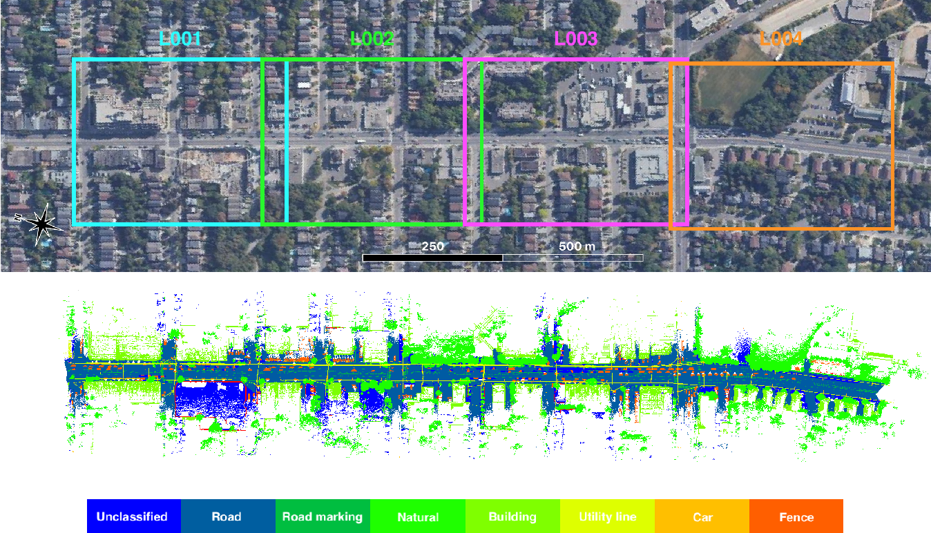 Figure 3 for Toronto-3D: A Large-scale Mobile LiDAR Dataset for Semantic Segmentation of Urban Roadways