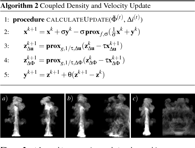 Figure 3 for Coupled Fluid Density and Motion from Single Views