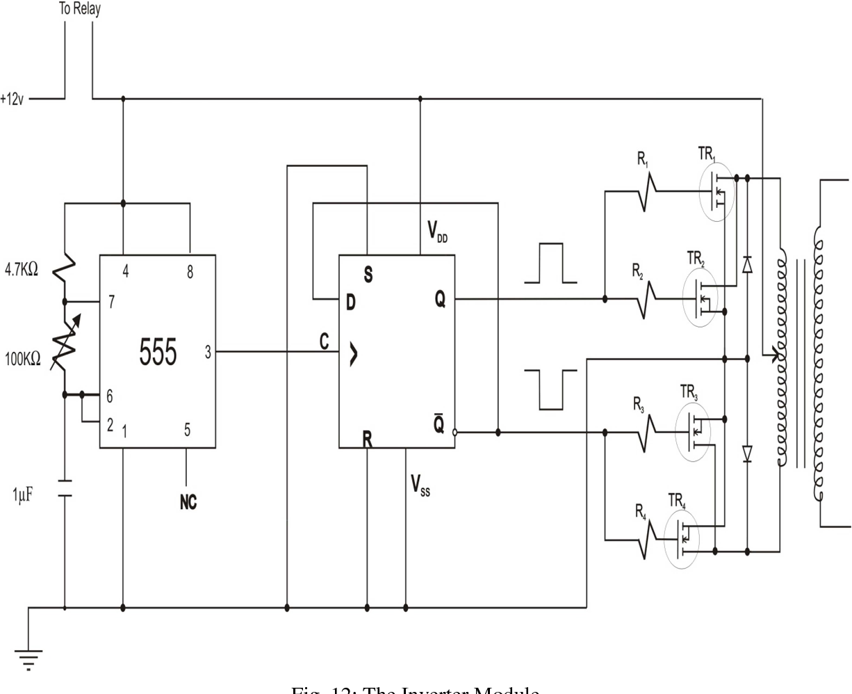Figure 1 From Design Of A Smart Embedded Uninterrupted Power Supply 555 Bistable Schematic System For Personal Computers Semantic Scholar